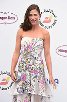 Johana Konta<br /> arriving for the Tennis on the Thames WTA event in Bernie Spain Gardens, South Bank, London<br /> <br /> ©Ash Knotek  D3412  28/06/2018