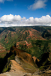 Hawaii: Kauai, at Waimea Canyon.  Photo hifree147.Photo copyright Lee Foster, 510/549-2202, lee@fostertravel.com, www.fostertravel.com