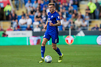 Joe Ralls of Cardiff City during the Sky Bet Championship match between Cardiff City and Aston Villa at the Cardiff City Stadium, Cardiff, Wales on 12 August 2017. Photo by Mark  Hawkins / PRiME Media Images.