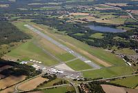 Flugplatz Luebeck Blankensee: EUROPA, DEUTSCHLAND, SCHLESWIG- HOLSTEIN, LUEBECK, (GERMANY), 23.08.2017: Flugplatz Luebeck Blankensee