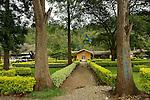 Entrance of Kibuye Hospital, Karongi District, Western Rwanda