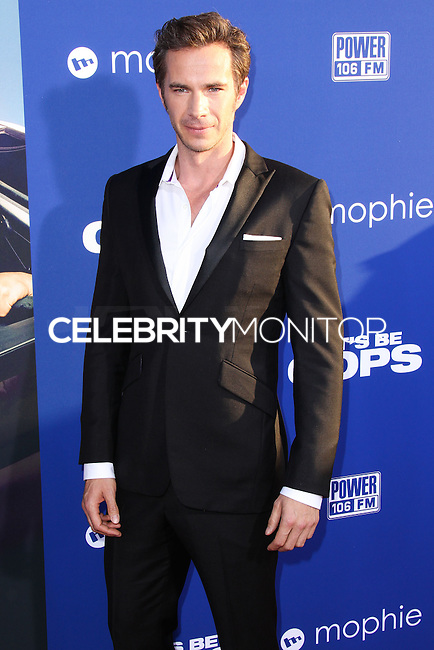 """HOLLYWOOD, LOS ANGELES, CA, USA - AUGUST 07: James D'Arcy at the Los Angeles Premiere Of 20th Century Fox's """"Let's Be Cops"""" held at ArcLight Cinemas Cinerama Dome on August 7, 2014 in Hollywood, Los Angeles, California, United States. (Photo by Xavier Collin/Celebrity Monitor)"""