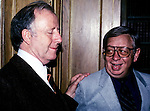 George Shearing and Mel Torme in New York City in 1983.