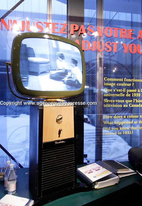 Montreal (Quebec) CANADA - Feb 19 2009 - <br /> Antic television,<br /> Les Rendez Vous du Cinema Quebecois 2009