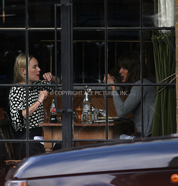 WWW.ACEPIXS.COM ************....February 19 2010, New York City....Actress Kate Bosworth enjoys lunch in a Soho restaurant with model Helena Christensen on February 19 2010 in New York City ....Please byline: PHILIP VAUGHAN - ACEPIXS.COM.. *** ***  ..Ace Pictures, Inc:  ..tel: (646) 769 0430..e-mail: info@acepixs.com..web: http://www.acepixs.com