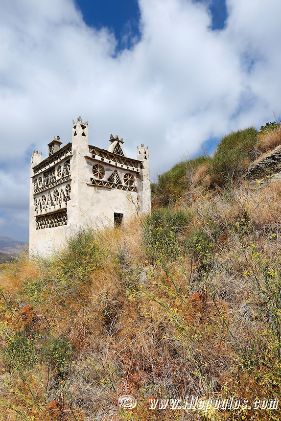 Dovecote with local architectural in Tinos island, Greece