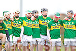 Kerry in action against  Kildare in the National Hurling League at Abbeydorney on Sunday.