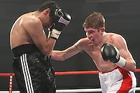 Bradley Evans vs Sid Razak at the  Norwich Showground, Norwich 28th February 2009