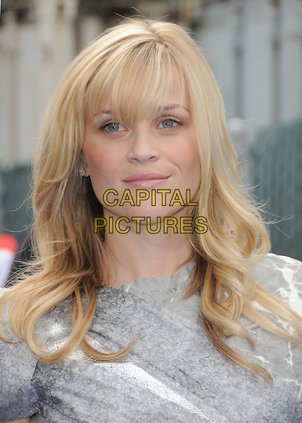 """REESE WITHERSPOON.The Dreamworks Animation's """"Monsters VS. Aliens"""" L.A. Premiere held at Gibson Ampitheatre in Universal City, California, California, USA..March 22nd, 2009 .headshot portrait grey gray silver .CAP/DVS.©Debbie VanStory/Capital Pictures"""