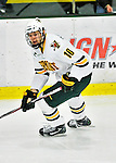 10 February 2012: University of Vermont Catamount forward Brooks Herrington, a Sophomore from Bow, NH, in action against the Boston College Eagles at Gutterson Fieldhouse in Burlington, Vermont. The Eagles defeated the Catamounts 6-1 in their Hockey East matchup. Mandatory Credit: Ed Wolfstein Photo