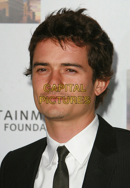 ORLANDO BLOOM.Mentor LA's Promise Gala Honoring Tom Cruise held at 20th Century Fox Studios,  Los Angeles, California, USA..March 22nd, 2007.headshot portrait .CAP/ADM/CH.©Charles Harris/AdMedia/Capital Pictures