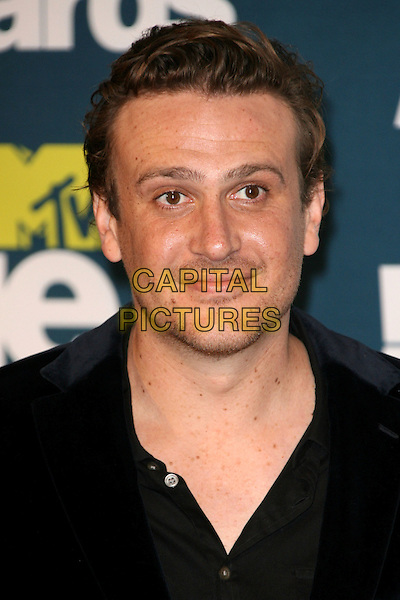 Jason Segal .2011 MTV Movie Awards - Press Room held at Gibson Amphitheatre, Universal City, California, USA..June 5th, 2011.Pressroom headshot portrait black stubble facial hair .CAP/ADM.©AdMedia/Capital Pictures.