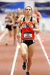 NAPERVILLE, IL - MARCH 11: Emily Richards of Ohio Northern runs in the mile at the Division III Men's and Women's Indoor Track and Field Championship held at the Res/Rec Center on the North Central College campus on March 11, 2017 in Naperville, Illinois. (Photo by Steve Woltmann/NCAA Photos via Getty Images)