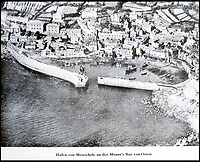 BNPS.co.uk (01202 558833)<br /> Pic: PhilYeomans/BNPS<br /> <br /> Photographed - Mousehole in Cornwall<br /> <br /> Chilling - Hitlers 'How to' guide to the invasion of Britain.<br /> <br /> A remarkably detailed invasion plan pack of Britain has been unearthed to reveal how our genteel seaside resorts would have been in the front line had Hitler got his way in World War Two.<br /> <br /> The Operation Sea Lion documents, which were issued to German military headquarters' on August 1, 1940, contain numerous maps and photos of every town on the south coast.<br /> <br /> They provide a chilling reminder of how well prepared a German invading force would have been had the Luftwaffe not been rebuffed by The Few in the Battle of Britain.<br /> <br /> There is a large selection of black and white photos of seaside resorts and notable landmarks stretching all the way from Land's End in Cornwall to Broadstairs in Kent.<br /> <br /> The pack also features a map of Hastings, raising the possibility that a second battle could have been staged there, almost 900 years after the invading William The Conqueror triumphed in 1066.