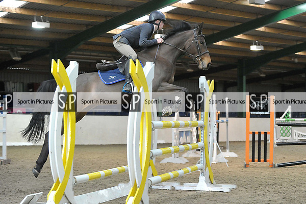 Class 9. British Showjumping Juniors. Brook Farm training centre. Stapleford abbots. Essex. 25/03/2018. ~ MANDATORY CREDIT Garry Bowden/SIPPA - NO UNAUTHORISED USE - +44 7837 394578