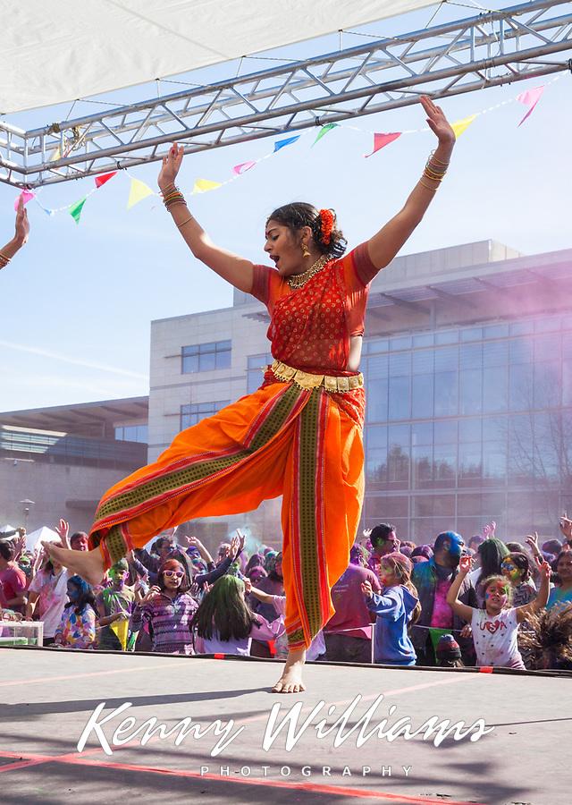 Aakansha Maheshwari, Holi Festival of Colors, Redmond, WA, USA.