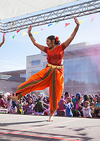 Aakansha Maheshwari, Holi Festival of Colors, Redmond, WA, USA.
