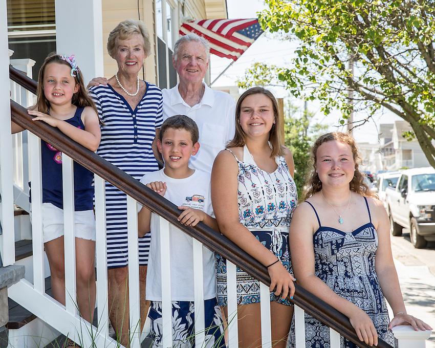 Sauer family photos shot on Sun., July 17, 2016 in Manasquan.