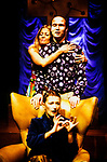 THE CHANGELING by Middleton adapted by McIntyre;<br /> Karina Jones as Beatrice-Joanna;<br /> Tim Gebbels as Alsemero;<br /> Jeni Draper;<br /> Directed by Sealey;<br /> Graeae Theatre Company;<br /> at the Phoenix Theatre, Exeter, UK;<br /> 11 October 2001;<br /> Credit: Patrick Baldwin;