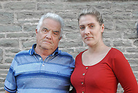 "Pictured L-R: Heartbroken husband Tony Price with daughter Nina - the pair want justice for wife and mum Diane Price, 57, killed by a young driver sending cheeky monkey emojis on her mobile phone.<br /> Re: A husband has told of his heartbreak after his wife was killed by a motorist sending cheeky monkey emojis at the wheel.<br /> Grandmother Diane Price, 57, died when the young woman driver was distracted by a message flashing up on Facebook.<br /> Her husband Tony, 76, is calling for tougher penalties on drivers using hand-held mobiles.<br /> He said: ""If a message comes through - they look at it.<br /> ""That's what killed my wonderful wife - but she wasn't the first and she won't be the last.""<br /> Gemma Evans, 23, was jailed for six months for causing Diane's death death by careless driving.<br /> A court heard she sent and received messages with cheeky monkey, love heart and thumbs up emojis while driving to work."
