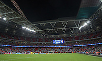 The Stadium empties seconds after the final whistle during the UEFA Champions League Group stage match between Tottenham Hotspur and Monaco at White Hart Lane, London, England on 14 September 2016. Photo by Andy Rowland.
