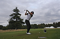 Christofer Blomstrand (SWE) on the 9th tee during Round 1 of the Bridgestone Challenge 2017 at the Luton Hoo Hotel Golf &amp; Spa, Luton, Bedfordshire, England. 07/09/2017<br /> Picture: Golffile | Thos Caffrey<br /> <br /> <br /> All photo usage must carry mandatory copyright credit     (&copy; Golffile | Thos Caffrey)