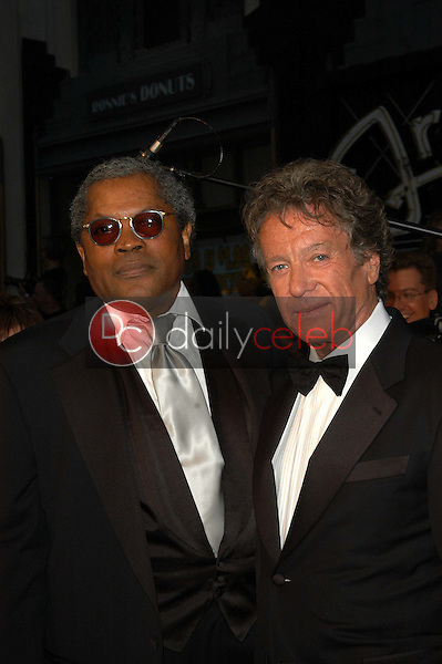 Clarence Williams III and Michael Cole
