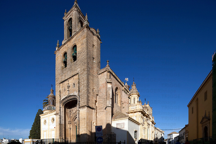 Santiago church, town of Utrera, province of Seville, Spain