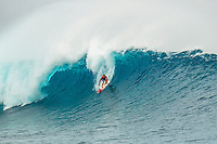 CLOUDBREAK, Namotu/Fiji (Friday, June 8, 2012) - Adrian Buchan (AUS) borrowed a bigger board but only caught two waves before breaking it.  The best day of paddle surfing ever seen at Cloudbreak happen today with the swell in the12'-15' range from the south.  The surf pumped all day with amazing performances from of the world best big wave paddle in surfers. The Volcom Fiji Pro completed the last two heats of Round Two with Bede Durbidge and Kai Otten advancing before being call off for the day. Photo: joliphotos.com