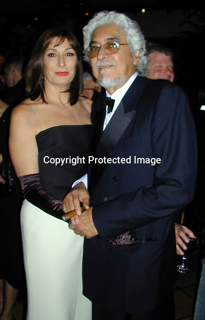 Angelica Houston &amp; Husband<br />