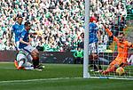 29.04.18 Celtic v Rangers: Odsonne Edouard scores the opening goal