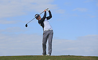 James Cooper during Round Two of the West of England Championship 2016, at Royal North Devon Golf Club, Westward Ho!, Devon  23/04/2016. Picture: Golffile | David Lloyd<br /> <br /> All photos usage must carry mandatory copyright credit (&copy; Golffile | David Lloyd)