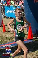 Ste. Genevieve sophomore Mia Jerman takes 8th to help the Lady Hunters win the team title.