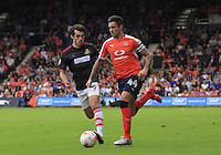 Luton Town vice captain Alan Sheehan in action during the Sky Bet League 2 match between Luton Town and Doncaster Rovers at Kenilworth Road, Luton, England on 24 September 2016. Photo by Liam Smith.