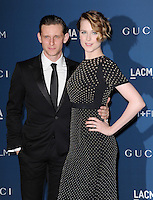 LOS ANGELES, CA - NOVEMBER 02: Jamie Bell &amp; Evan Rachel Wood at  LACMA 2013 Art + Film Gala held at LACMA  in Los Angeles, California on November 2nd, 2012 in Los Angeles, CA., USA.<br /> CAP/DVS<br /> &copy;DVS/Capital Pictures