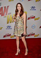 Karen Gillan at the premiere for &quot;Ant-Man and the Wasp&quot; at the El Capitan Theatre, Los Angeles, USA 25 June 2018<br /> Picture: Paul Smith/Featureflash/SilverHub 0208 004 5359 sales@silverhubmedia.com