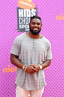 LOS ANGELES - July 13:  Landon Collins at the Nickelodeon Kids' Choice Sports Awards 2017 at the Pauley Pavilion on July 13, 2017 in Westwood, CA