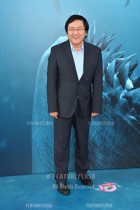 "LOS ANGELES, CA - August 06, 2018: Masi Oka at the US premiere of ""The Meg"" at the TCL Chinese Theatre"