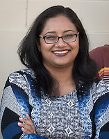 Treena Basu, Assistant Professor, Mathematics, Sept. 17, 2014.<br /> (Photo by Marc Campos, Occidental College Photographer)