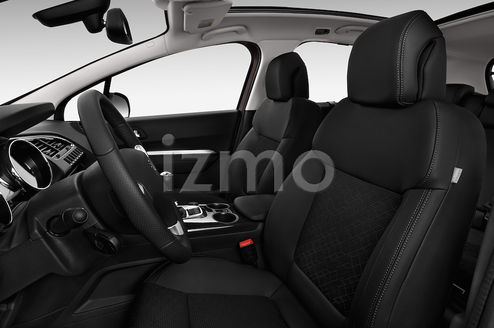 Front seat view of a 2014 Peugeot 3008 5 Door SUV 2WD