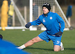 St Johnstone Training&hellip;.27.12.16<br />David Wotherspoon pictured in training this morning at McDiarmid Park ahead of tomorrow&rsquo;s game against Rangers<br />Picture by Graeme Hart.<br />Copyright Perthshire Picture Agency<br />Tel: 01738 623350  Mobile: 07990 594431