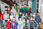 Young footballers who were honoured at the Legion GAA awards night in Sunday night in the Killarney Avenue hotel