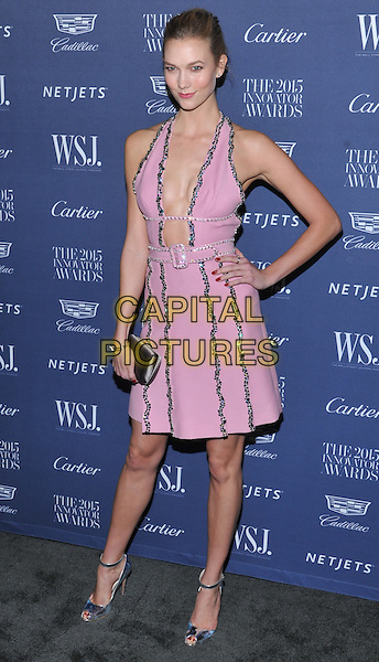 New York,NY-November 4:  Karlie Kloss attend the WSJ. Magazine 2015 Innovator Awards at the Museum of Modern Art on November 4, 2015 in New York City. <br /> CAP/MPI/STV<br /> &copy;STV/MPI/Capital Pictures