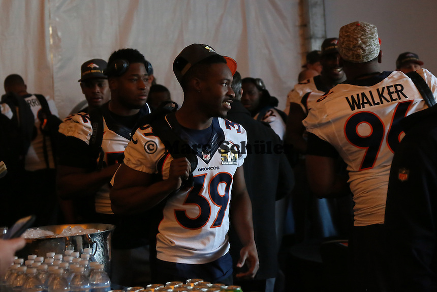 CB Taureen Nixon (Broncos) - Super Bowl 50 Denver Broncos PK, Marriott Santa Clara