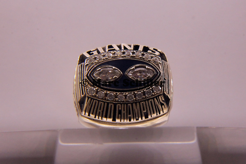 Super Bowl Ringe der einzelnen Siegerteams: XXV New York Giants 1990