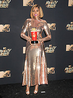 Actress Taraji P. Henson at the 2017 MTV Movie &amp; TV Awards at the Shrine Auditorium, Los Angeles, USA 07 May  2017<br /> Picture: Paul Smith/Featureflash/SilverHub 0208 004 5359 sales@silverhubmedia.com