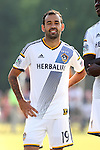 24 June 2014: Los Angeles' Juninho (BRA). The Carolina RailHawks of the North American Soccer League played the Los Angeles Galaxy of Major League Soccer at Koka Booth Stadium at WakeMed Soccer Park in Cary, North Carolina in the fifth round of the 2014 Lamar Hunt U.S. Open Cup soccer tournament. The RailHawks won the game 1-0 in overtime.