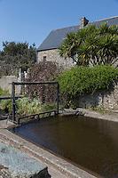 Europe/France/Normandie/Basse-Normandie/50/Manche/Cap de la Hague/Vauville: Maison du village //  France, Manche, Cotentin, La Hague, Vauville: