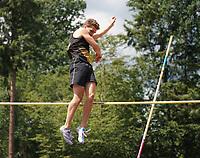 Lars Pietschmann (LG Moerfelden-Walldorf) beim Stabhochsprung - Moerfelden-Walldorf 11.07.2020: Sportfest der LG Moerfelden-Walldorf