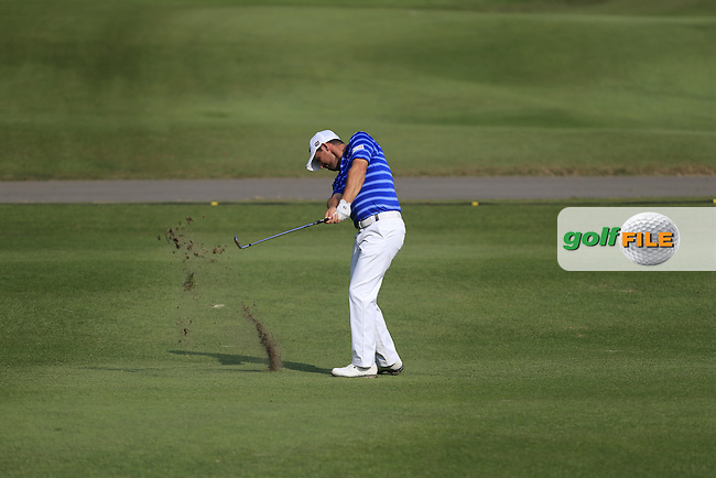 Padraig Harrington (IRL) on the 13th during Round 1 of the 2015 UBS Hong Kong Open at the Hong Kong Golf Club in The Netherlands on 2/10/15.<br /> Picture: Thos Caffrey | Golffile